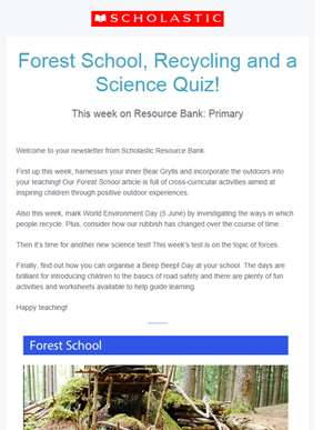 Create your own forest school!