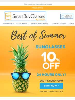 ??10% Off Sunglasses | Celebrate the Summer with our top sellers