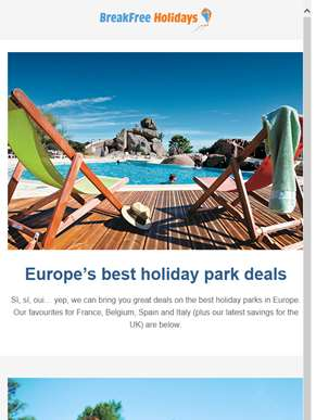 Si, oui, yes - Europe's best holiday park deals