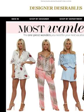 Summer Must-Haves - Jumpsuits & Playsuits You Need Now....