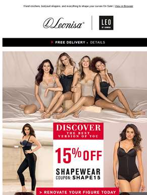 15% OFF Shapers! Discover the best version of you