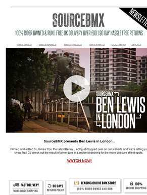 Ben Lewis edit just dropped over on SourceBMX??