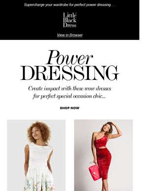 Power dressing ?