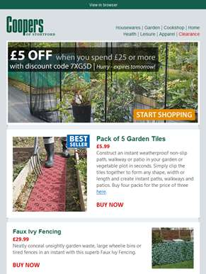 Take the graft out of gardening...