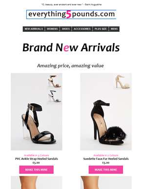 Kick start your weekend with our best shoe collection -EVER!!! ?