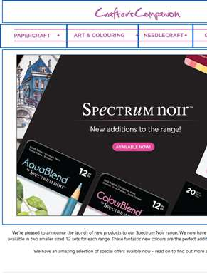 New additions to the Spectrum Noir range!