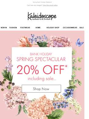 Weekend Treat - 20% Off Including Sale!