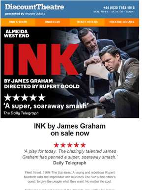 On sale | INK by James Graham