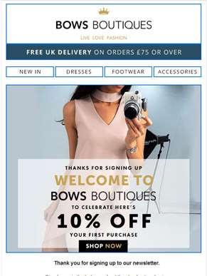Welcome to Bows Boutiques