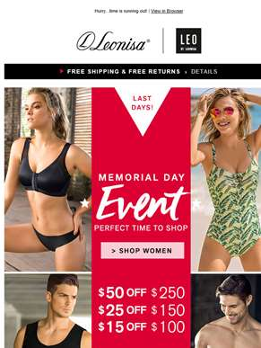 Almost over! Up to $50 OFF Memorial Day Event