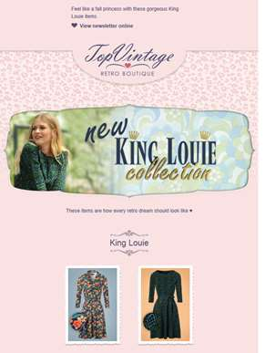 New King Louie collection!