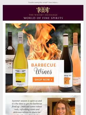 Barbecue wines for summer