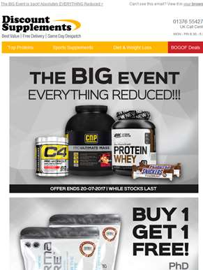 Everything REDUCED + Buy 1 Get 1 Free's