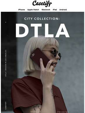 Toughest case ever. Meet DTLA.