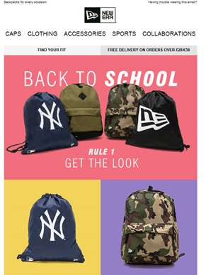 Get The Look | Back To School