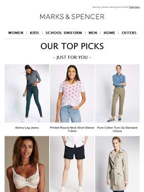Our top picks | Just for you