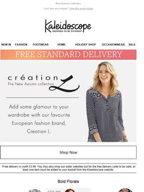 New Arrivals From Creation L. Plus, Free Delivery!
