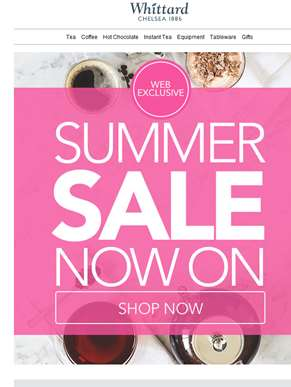 Did someone say summer sale? Now on!