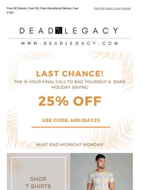 Last Call! Sale Ends Soon>>>