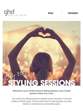 Get your summer style sorted with ghd… | styling sessions