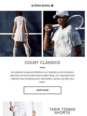 Be Attractive on the Tennis Court
