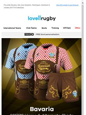 Pre-order World Beach Rugby & Rugby 7's Novelty Shirt Collections.
