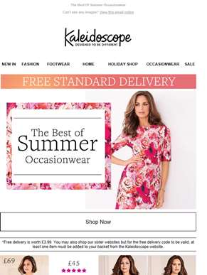 Summer Occasionwear! Plus, Free Delivery
