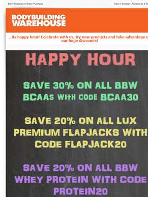 HAPPY HOUR STARTS NOW with HUGE DISCOUNTS!! Ends TONIGHT