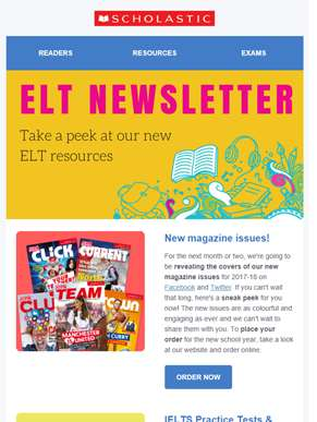 Take a peek at our new ELT resources!