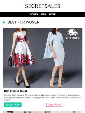 Best for Women: Guess Jewellery & Watches, Dune Shoes & Handbags, Valentino Sunglasses and more...