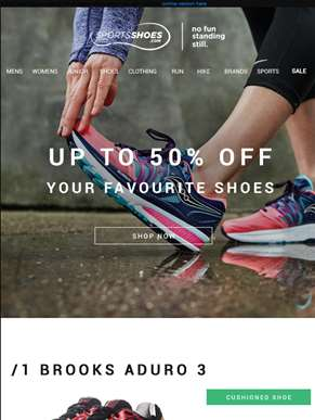 June Sale Event | Up To 50% Off Your Favourite Shoes