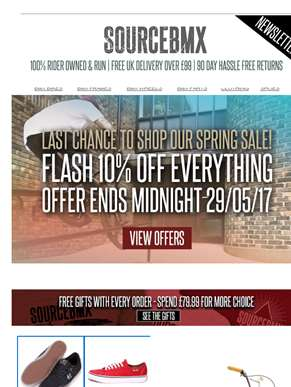 Last chance to get 10% off EVERYTHING!