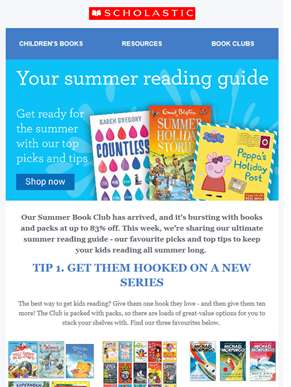 Your summer reading guide has arrived
