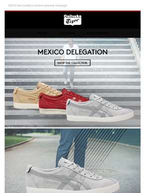 New Colorways of the Mexico Delegation