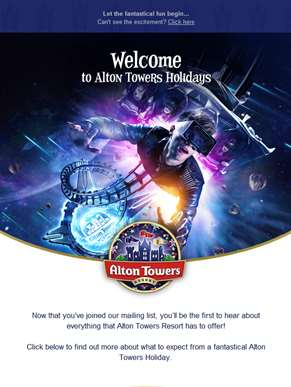 Welcome to Alton Towers Holidays!