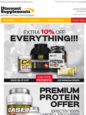 Want a great deal on a premium PROTEIN?