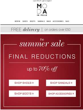 Final Reductions live NOW!