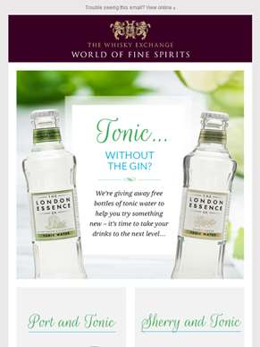 Tonic... without the gin?