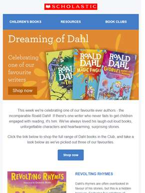 Dreaming of Dahl: celebrating one of our favourite writers