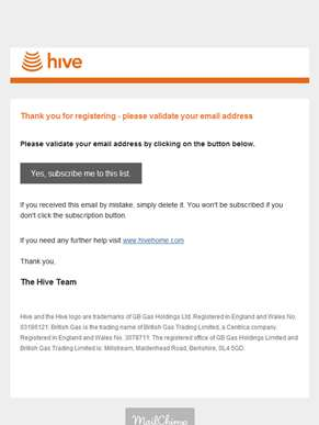 Hive News & Updates: Validate Email Address
