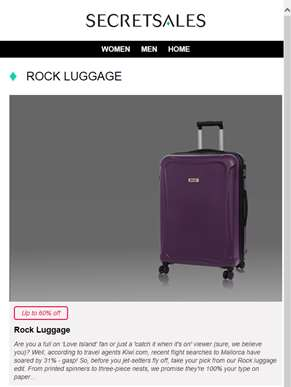 Treat yourself this payday! Rock Luggage, Roberto Cavalli Watches, Foldable Treadmil