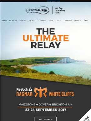 Run. Drive. Sleep. Repeat - Join us at this year's Ragnar Relay