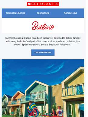 Summer breaks from only £99 per person at Butlin's