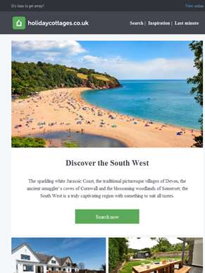 Discover the South West...