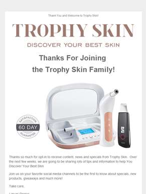 Welcome to Trophy Skin!