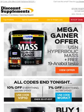 Two amazing offers from USN & CNP…