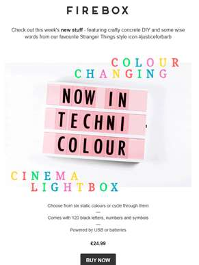 New Stuff: Speaker for your Amazon Echo Dot, Colour Changing Cinema Lightbox...