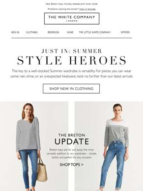 All new: Summer style heroes