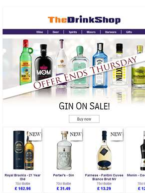 All Gin On Special Offer!