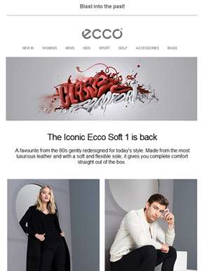 The return of the ECCO Soft 1